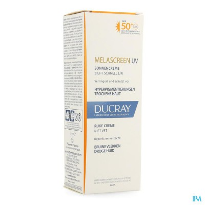 Ducray Melascreen Uv Rijke Creme 40ml