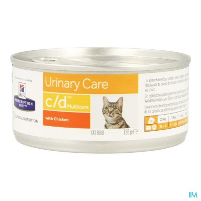 Hills Prescrip.diet Feline Cd Minced 156g 9451yt