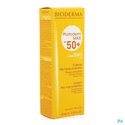 Bioderma Photoderm Max Creme Ip50+ Tube 40ml