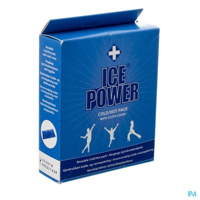 Ice Power Cold/hot Pack Met Hoes 28x14cm