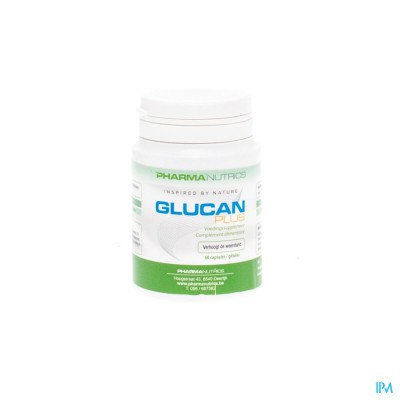 Glucan Plus Caps 60 Pharmanutrics