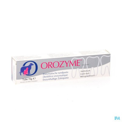 Orozyme Canine Tandp Enzymatisch Hond Tube 70g