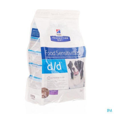 Hills Prescrip.diet Canine Dd Duck&rice 5kg 9118m