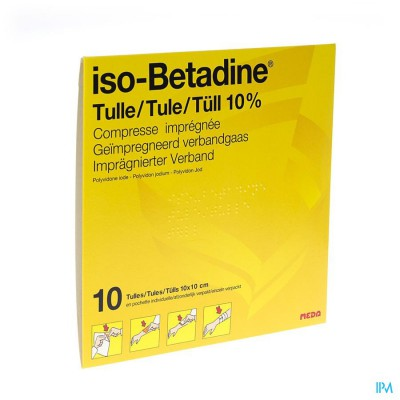 Iso Betadine Tulles Compr 10