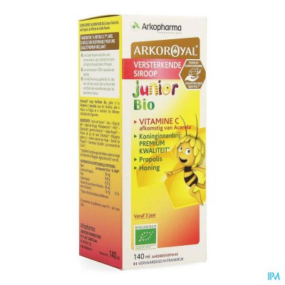 Arkoroyal Siroop Kid Versterk.ruche Royale 150ml
