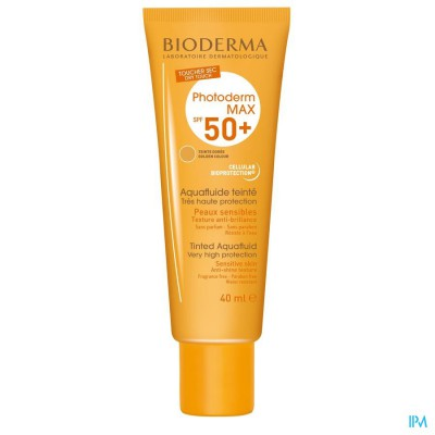 Bioderma Photoderm Max Aquafluide Ip50+ Dore 40ml