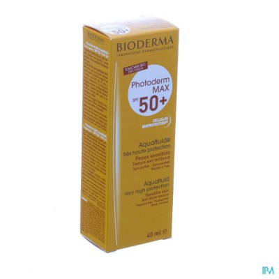 Bioderma Photoderm Max Aquafluide Ip50+ Incol.40ml