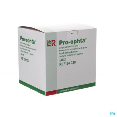 Pro-ophta S Oogverband Groot 50 34230