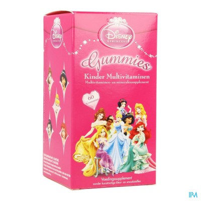 Disney Multivitaminen Kinder Princess Gum. 60
