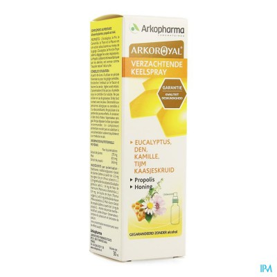 Arkoroyal Keelspray Verzachtend 30ml