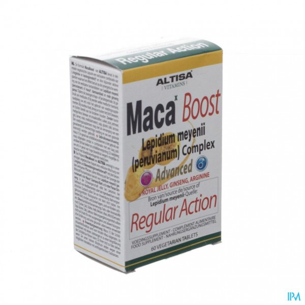 Altisa Maca Boost Cplx Advanced Tabl 60