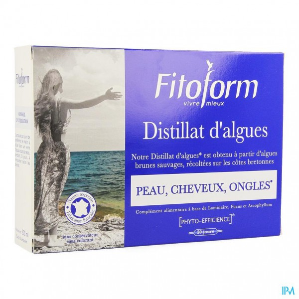 Algendistilaat Amp 20x10ml Fitoform
