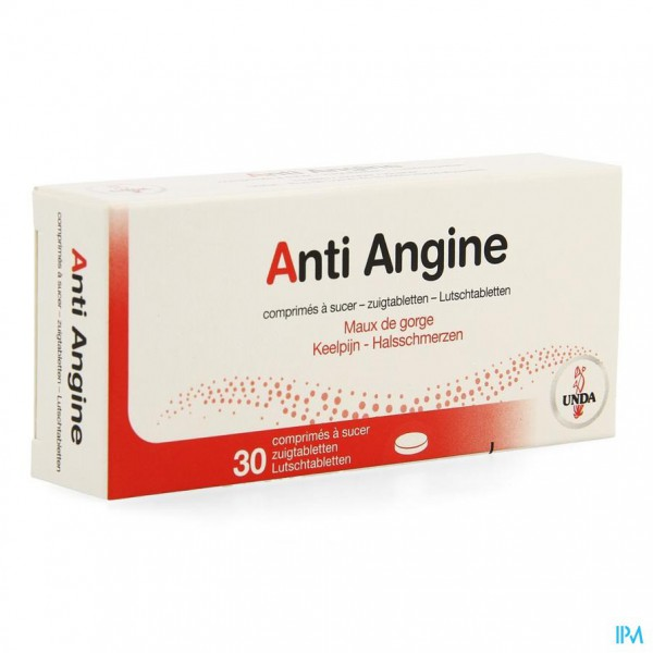 Anti Angina Comp 30 Unda