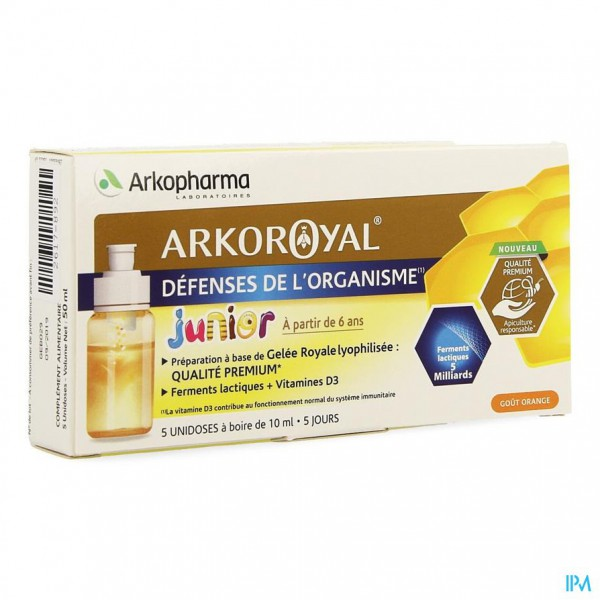 Arkoroyal Probiot. Kind Ruche Royale Dosis 5x7,5ml