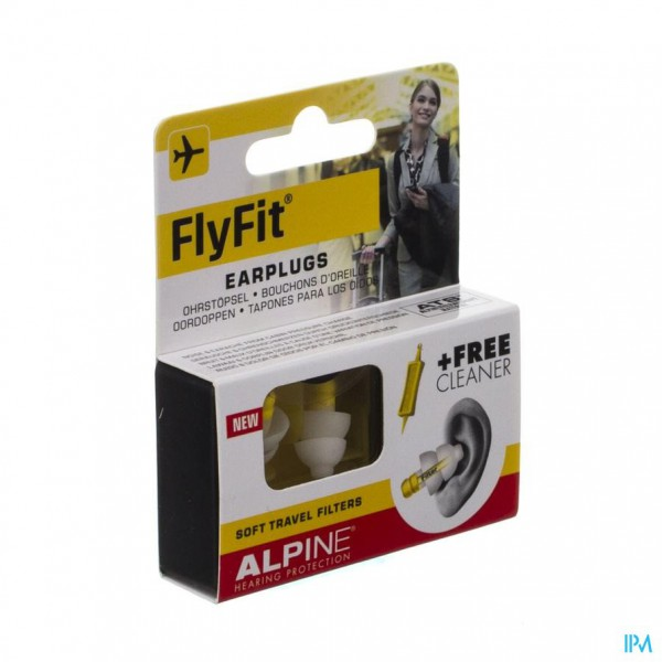 Alpine Fly Fit Oordoppen New 1p